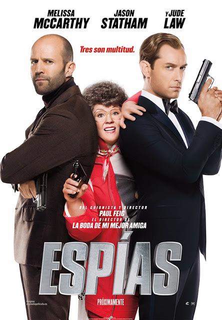 Póster, tráiler en castellano e imágenes de 'Espías'