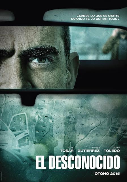 Primer tráiler y teaser poster de 'El desconocido' con Luis Tosar y Javier Gutiérrez