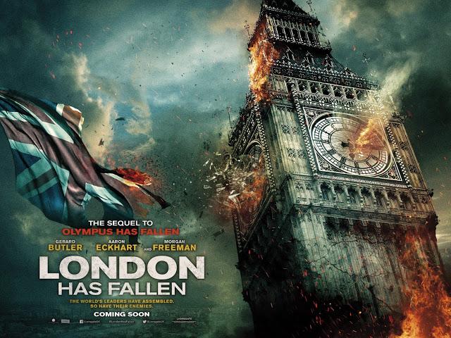 Dos nuevos y explosivos pósters de 'Objetivo: Londres'
