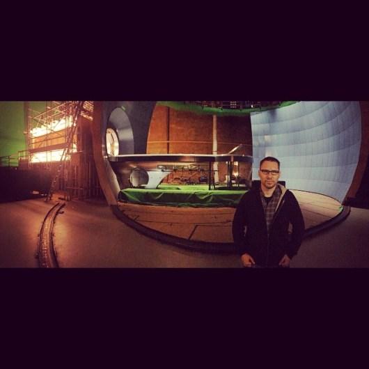 Nueva foto del set de 'X-Men: Apocalyse' donde vemos a Cerébro