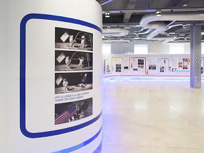 Inaugurada la exposición de la película 'Atrapa la bandera'