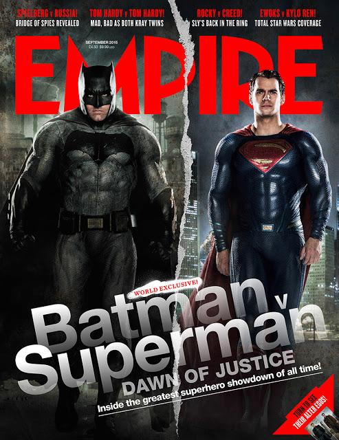 Nueva imagen de 'Batman v Superman: El amanecer de la Justicia' en la portada de Empire