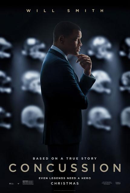 Tráiler y póster del drama deportivo 'Concussion' con Will Smith