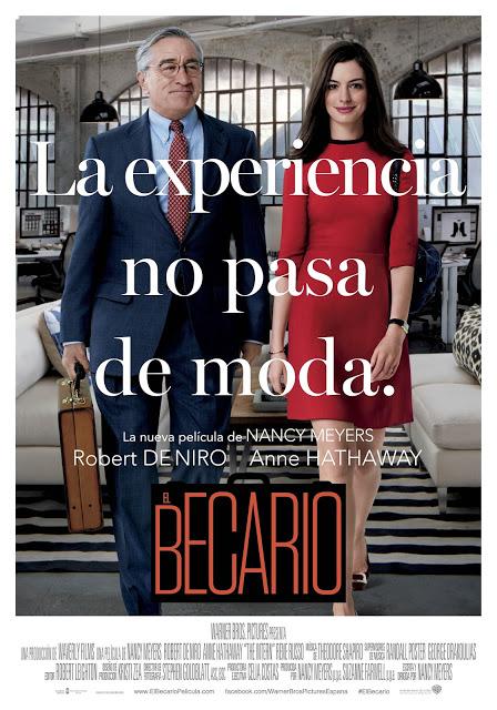 Tráiler y póster de 'El becario', con Robert de Niro y Anne Hathaway