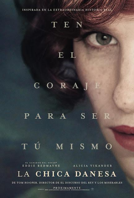 Tráiler español y remesa de pósters de 'La chica danesa' ('The danish girl') con Eddie Redmayne y Alicia Vikander