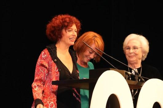 Icíar Bollain, Gracia Querejeta y Josefina Molina