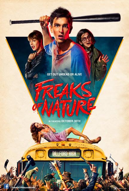 Póster y tráiler para adultos de 'Freaks of nature'