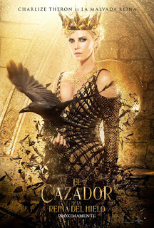 Pósters de personajes de 'El Cazador y la Reina del Hielo', spin-off de 'Blancanieves y la leyenda del cazador'