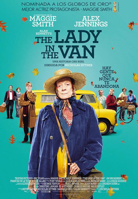 Tráiler y el póster oficial en castellano de 'The Lady in the Van'