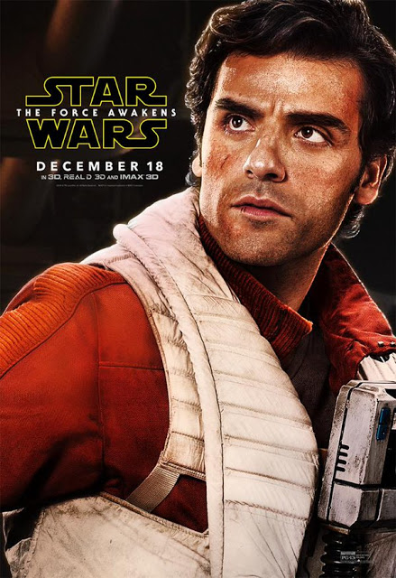 Nuevo póster de 'Star Wars: el despertar de la Fuerza' centrado en Poe Dameron