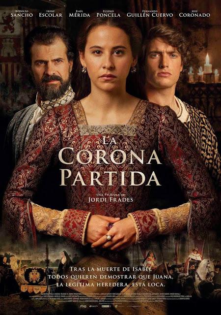 Póster oficial de 'La corona partida', dirigida por Jordi Frades