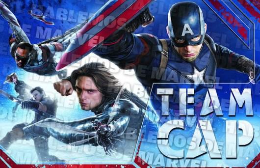 Remesa de imágenes de arte conceptual de 'Capitán América: Civil War'