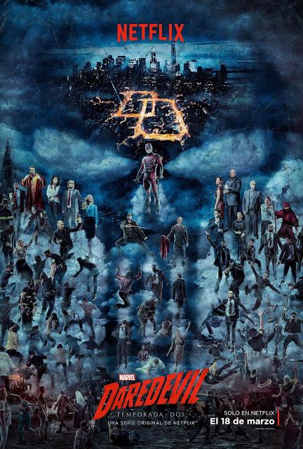 Póster y avance de la segunda temporada de 'Daredevil' en Netflix