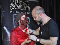 Evento de maquillaje con motivo del lanzamiento de 'La cumbre escarlata'