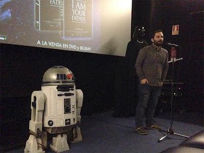 Evento por el lanzamiento en DVD y Blu-ray de 'I am your father'