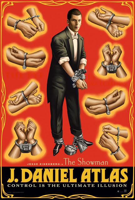 Jeese Eisenberg y Dave Franco ya tienen pósters individuales de 'Ahora me ves 2'