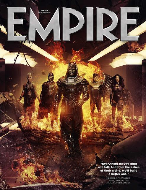 'X-Men: Apocalipsis' acapara otra portada más de la revista 'Empire'
