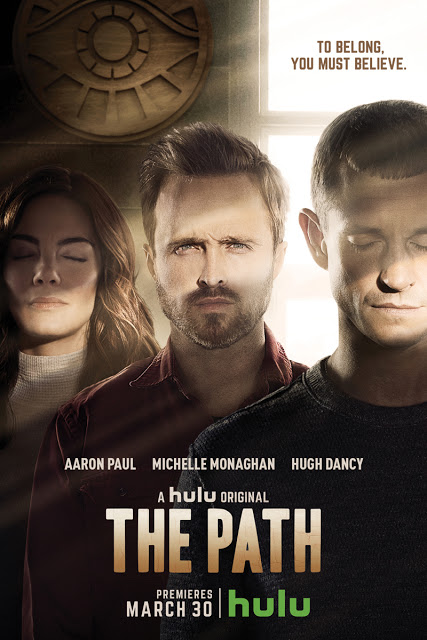 Nuevos pósters de 'The path', con Aaron Paul y Michelle Monaghan