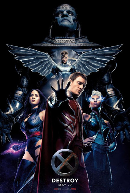 Los 4 jinetes del Apocalipsis en el nuevo póster de 'X-Men: Apocalipsis'