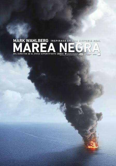 Tráiler y teaser poster de 'Marea negra' con Mark Wahlberg, Kurt Russell y John Malkovich