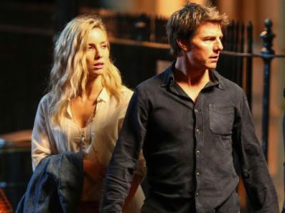 Primeras imágenes de Tom Cruise en el rodaje de 'The mummy'