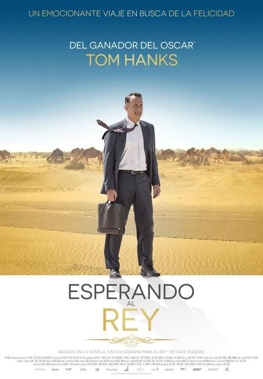 Póster de 'Esperando al rey' con Tom Hanks