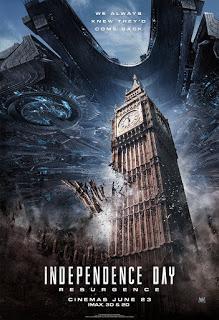 El fin del mundo se acerca en los nuevos pósters de 'Independence Day: Contraataque'