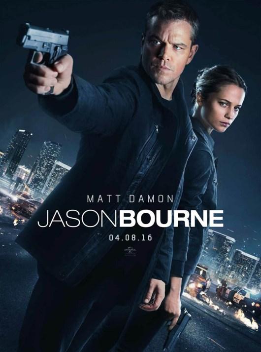 Nuevo póster y anuncio de televisión de 'Jason Bourne'