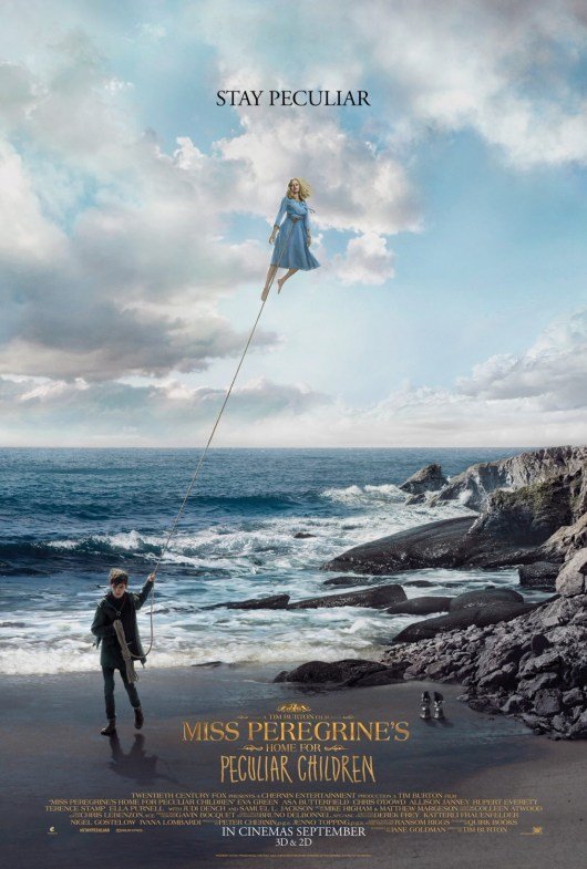 Nuevos pósters internacionales de 'El hogar de Miss Peregrine para niños peculiares'