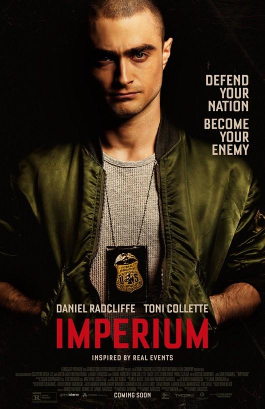 Póster y tráiler de 'Imperium' con Daniel Radcliffe como un neonazi