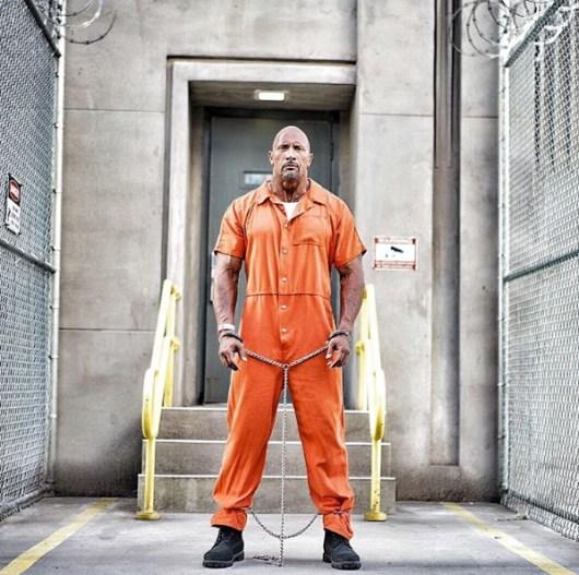 Nuevas fotos de Dwayne Johnson en 'Fast 8'