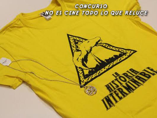 Concurso 'La historia interminable': Tenemos camiseta y colgante para los asistentes al pase de Valladolid