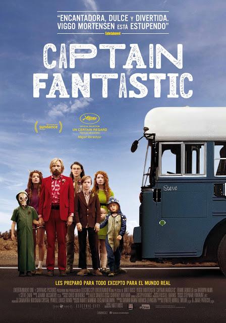 Póster y tráiler español de la emocionante fábula 'Captain Fantastic'