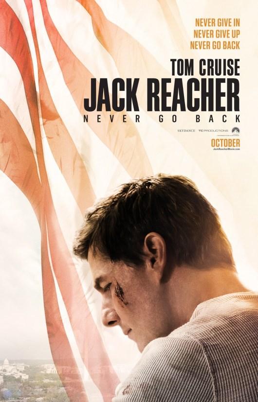 Nuevo póster y anuncio internacional de 'Jack Reacher: Nunca vuelvas atrás'