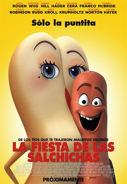 Sólo la puntita... en el póster español de 'La fiesta de las salchichas'