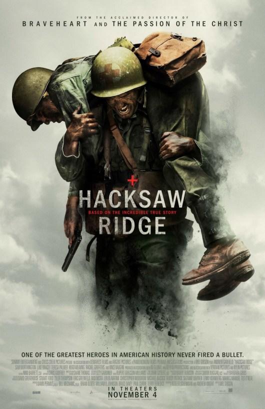 Nuevo póster de 'Hacksaw Ridge' de Mel Gibson