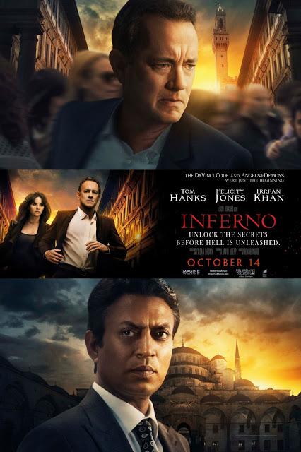 Nuevo póster internacional de 'Inferno' con Tom Hanks y Felicity Jones