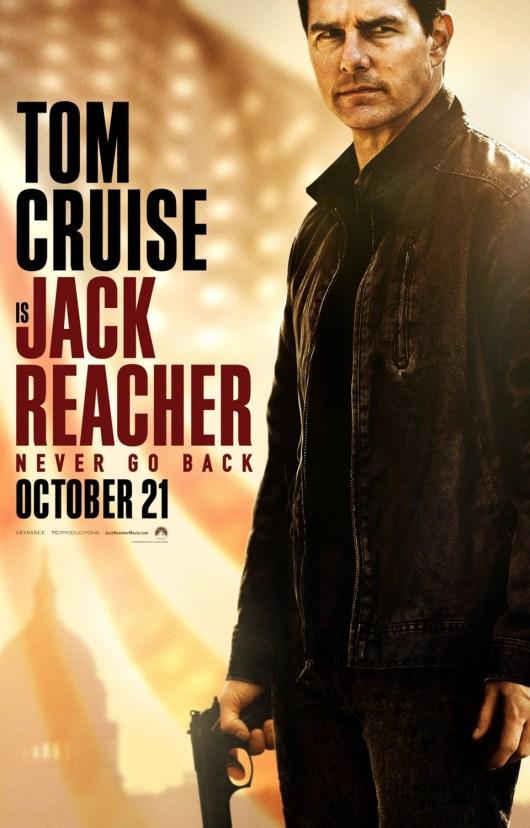 Nuevo póster internacional de 'Jack Reacher: Nunca vuelvas atrás'