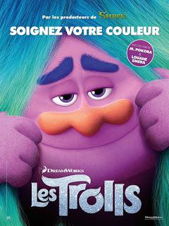 Remesa de pósters de la comedia animada 'Trolls'