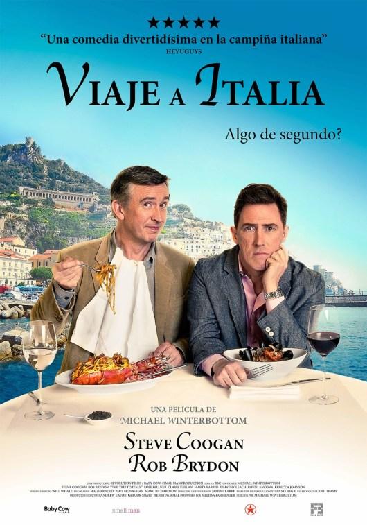 Póster y tráiler de la comedia 'Viaje a Italia'