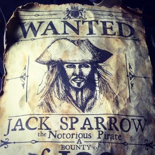 Se busca a Jack Sparrow en el nuevo póster de 'Piratas del Caribe: La venganza de Salazar'Se busca a Jack Sparrow en el nuevo póster de 'Piratas del Caribe: La venganza de Salazar'