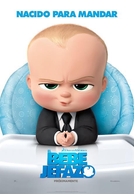 Primer tráiler y póster español de 'El bebé jefazo'