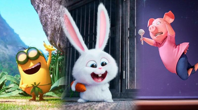 'Los Minions 2', 'Mascotas 2' y '¡Canta 2!': Universal Pictures llenará los cines de secuelas animadas
