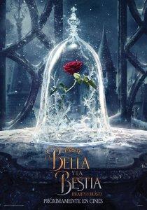 """Pósters de la película """"La bella y la bestia"""""""