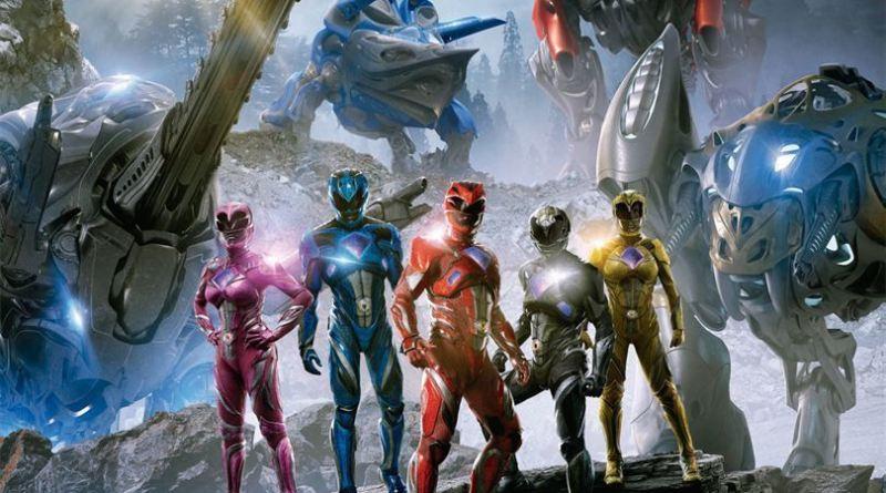 "Pósters de la película ""Power Rangers"""