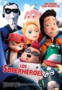 """Pósters de la película """"Los Superhéroes"""""""