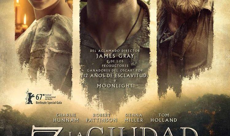 """Pósters de la película """"Z, la ciudad perdida"""""""
