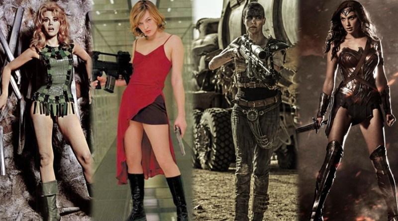 la mujer en el cine de acción