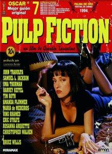 "Pósters de la película ""Pulp Fiction"""