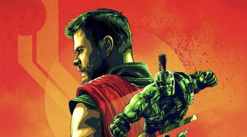 'Thor: Ragnarok': Póster IMAX con el reparto al completo